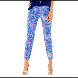 Lilly Pulitzer Kelly Ankle skinny pants. 10